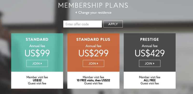 Priority Pass Membership Options