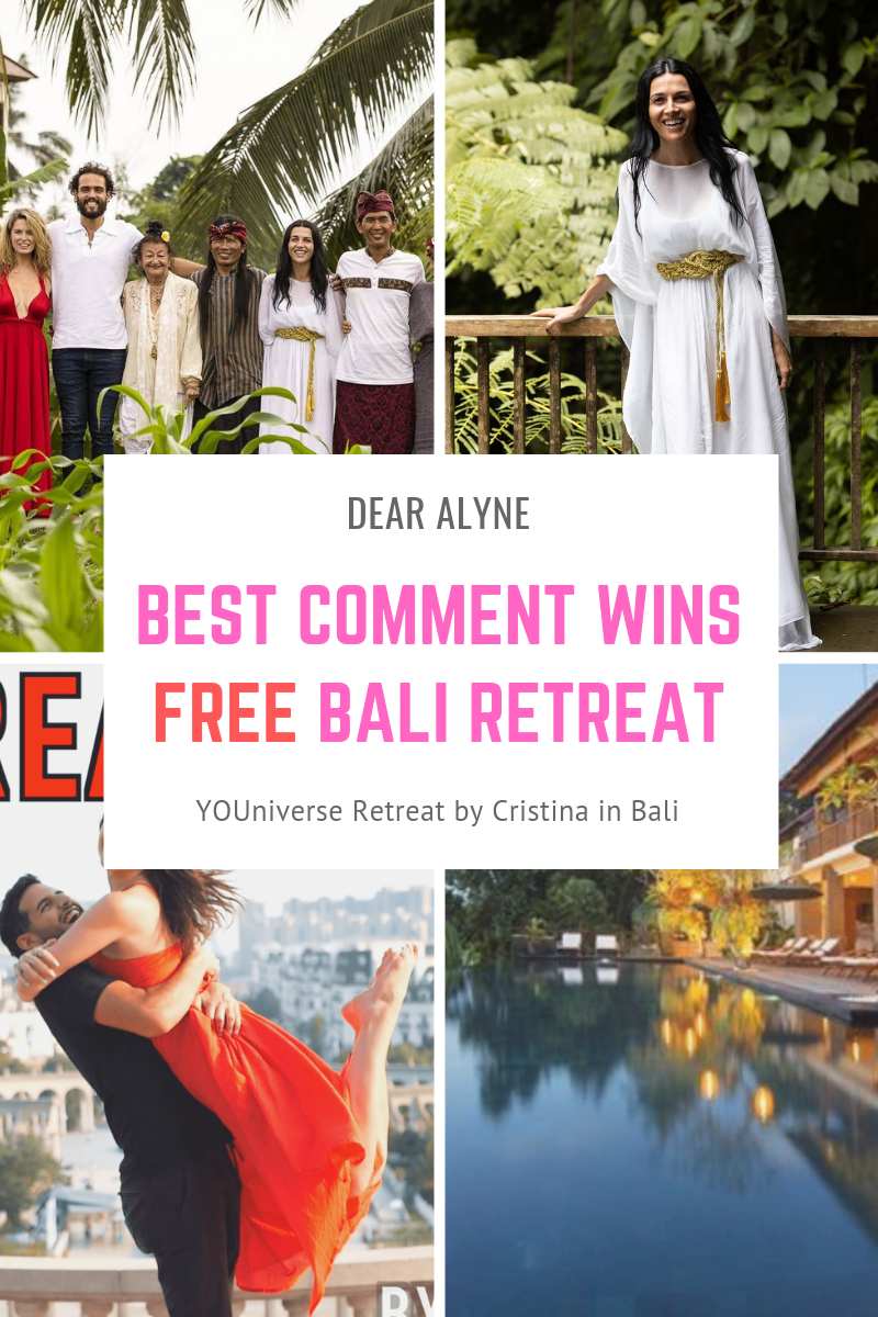 Win a free retreat to Bali with only a comment